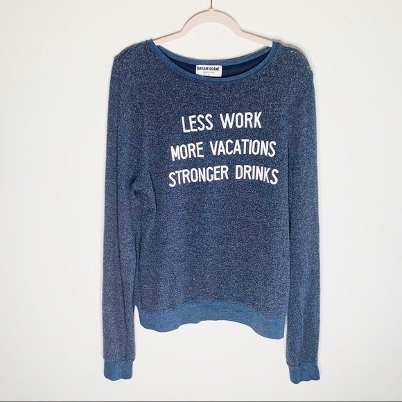 Wildfox Sweaters - Wildfox by Dream Scene Less Work More Vacations